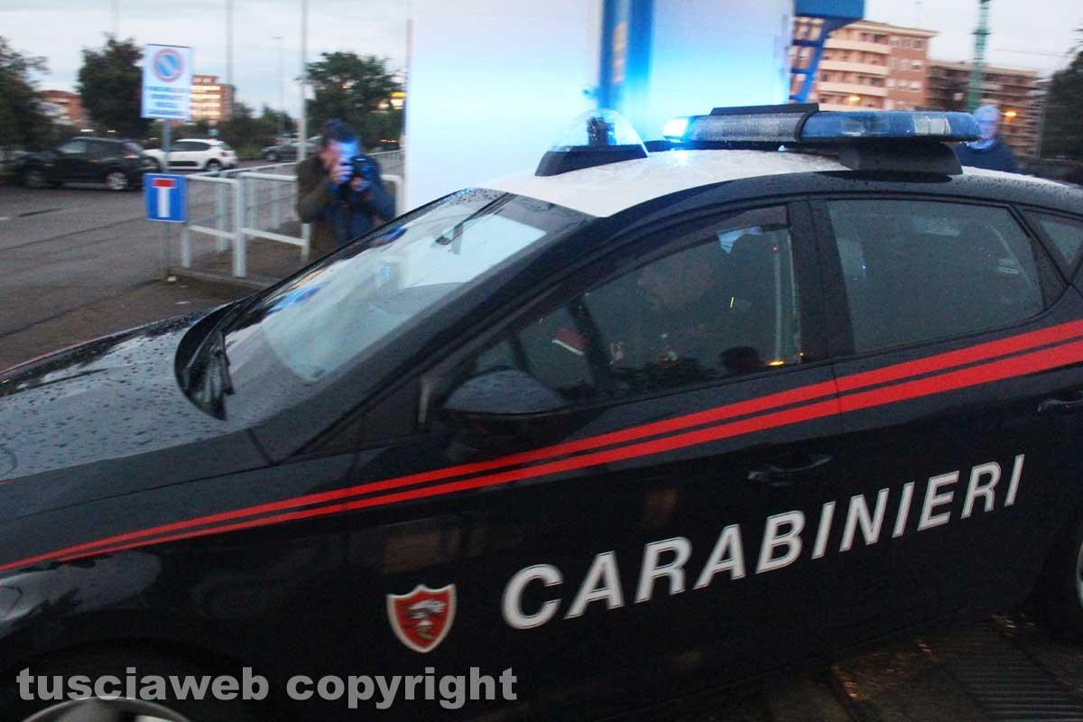 Viterbo - Omicidio in via San Luca - Carabinieri - Michael Aaron Pang viene portato in carcere