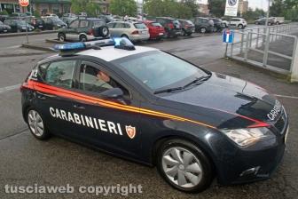 Viterbo - Omicidio in via San Luca - Carabinieri - Michael Aaron Pang viene portato in caserma