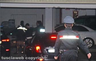 Michael Aaron Pang nella caserma dei carabinieri di Viterbo