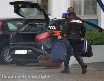 Viterbo - Omicidio in via San Luca - Carabinieri