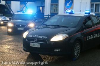 Viterbo - Omicidio in via San Luca - Carabinieri e polizia - Michael Aaron Pang viene portato in carcere