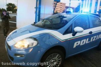 Viterbo - Omicidio in via San Luca - Polizia - Michael Aaron Pang viene portato in carcere