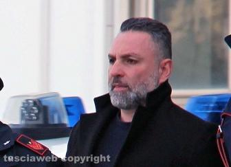 Scacco alla Mafia nel Viterbese - Gli arrestati all'uscita dalla caserma dei carabinieri