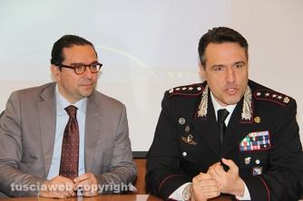 Operazione Fai da te - Conferenza stampa - Il pm Massimiliano Siddi e il colonnello Mauro Conte