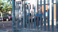 Le immagini di un arresto
