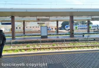 Orte - Emergenza Coronavirus - La stazione deserta