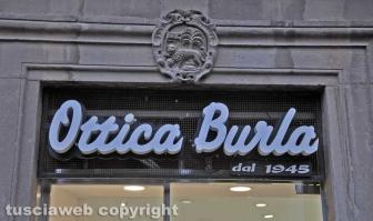 Viterbo - Ottica Burla - bottega storica