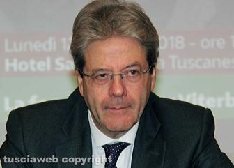 Paolo Gentiloni a Viterbo