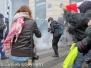Parigi, fotografi e giornalisti sul campo