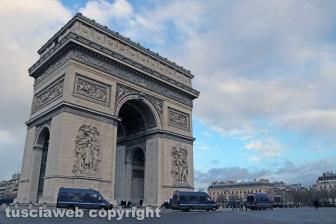 Parigi, in viaggio verso la capitale - 8 dicembre - Foto Daniele Camilli