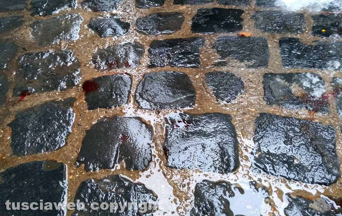 Viterbo - Il sangue in via della Casaccia