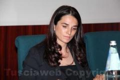 Il consigliere regionale Gina Cetrone