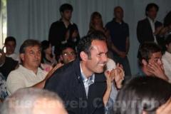 Il sindaco di Montalto di Castro Sergio Caci