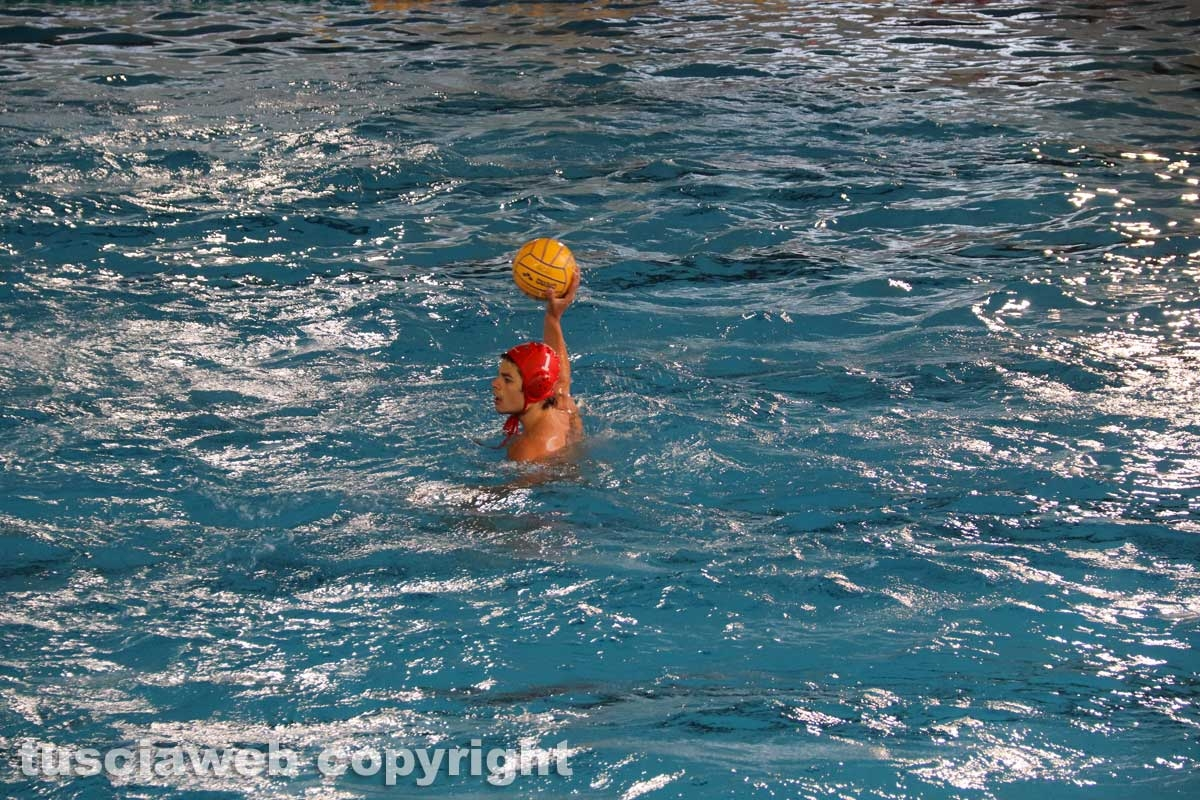 Viterbo - Finale di pallanuoto Under 20 Posillipo - Roma