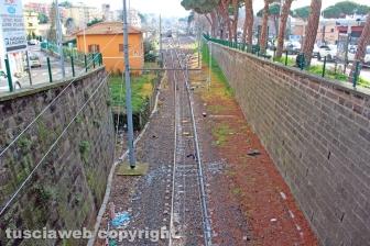 Viterbo - Porta Romana, la ferrovia