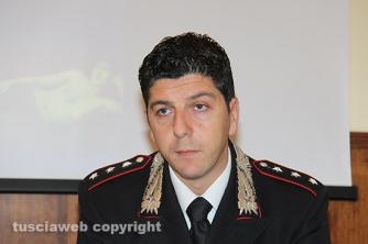 Operazione Libertà - Il capitano Giovanni Martufi, comandante del nucleo investigativo dei carabinieri di Viterbo
