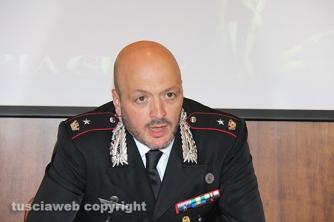 Operazione Libertà - Il maggiore Giovanni Rizzo, comandante del reparto operativo dei carabinieri di Viterbo