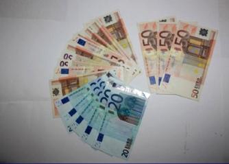 Operazione Libertà - I contanti sequestrati dai carabinieri
