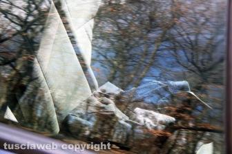 Soriano nel Cimino - Rapina alla gioielleria Bracci, l'auto della fuga