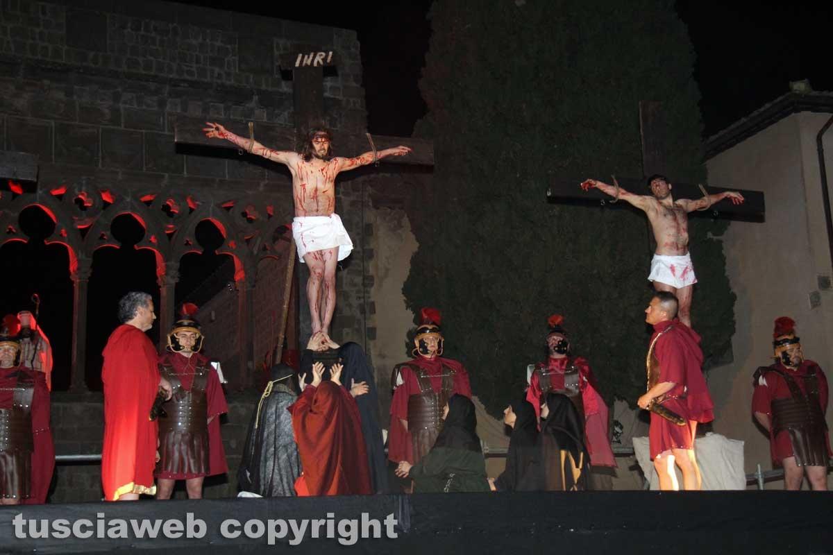 Rappresentazione della crocifissione