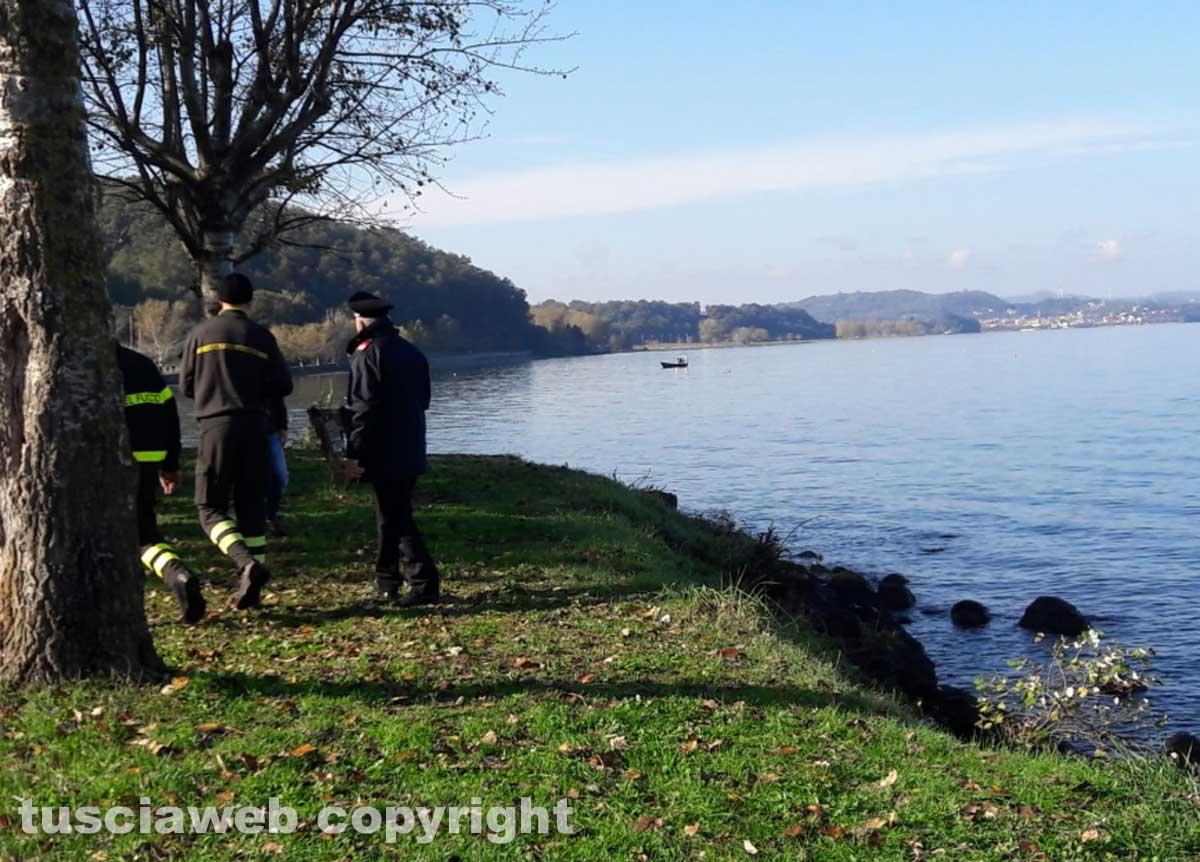 Lago di Bolsena - Le ricerche del disperso - I carabinieri