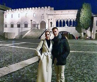 Rocco Siffredi a Viterbo, le foto sui social