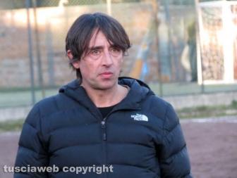 Ronciglione United L'allenatore Alessandro Oroni