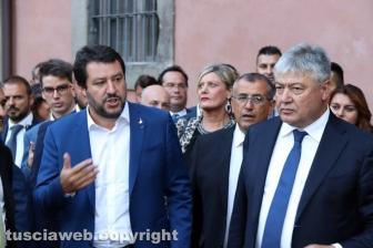 Salvini a Viterbo