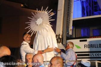 La statua di santa Rosa
