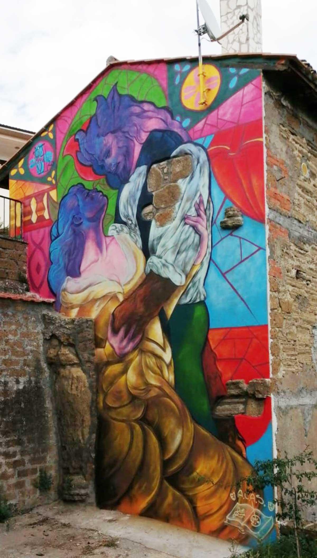 Sant'Angelo di Roccalvecce - La bella e la bestia di Giusy Guerriero
