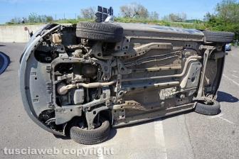 Schianto tra auto a Ponte Sodo