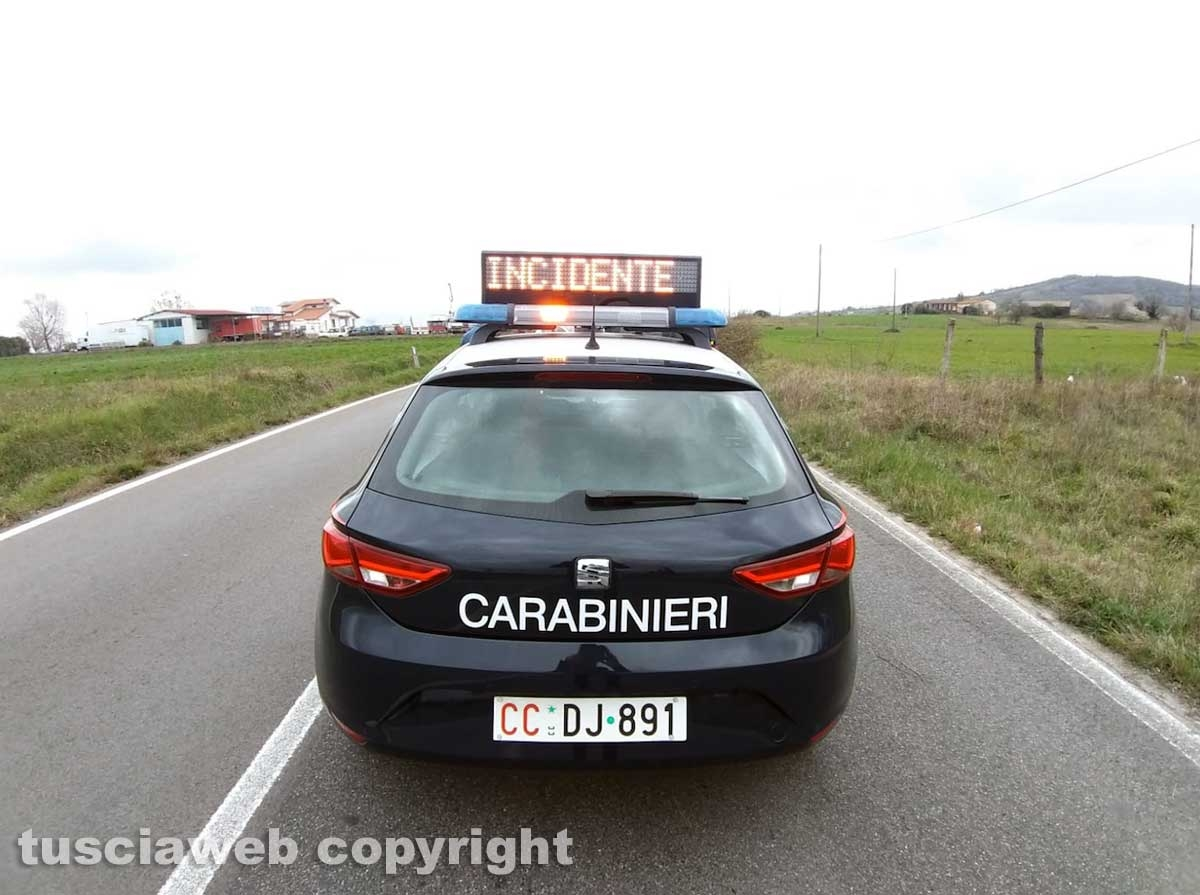 Carabinieri - Incidente