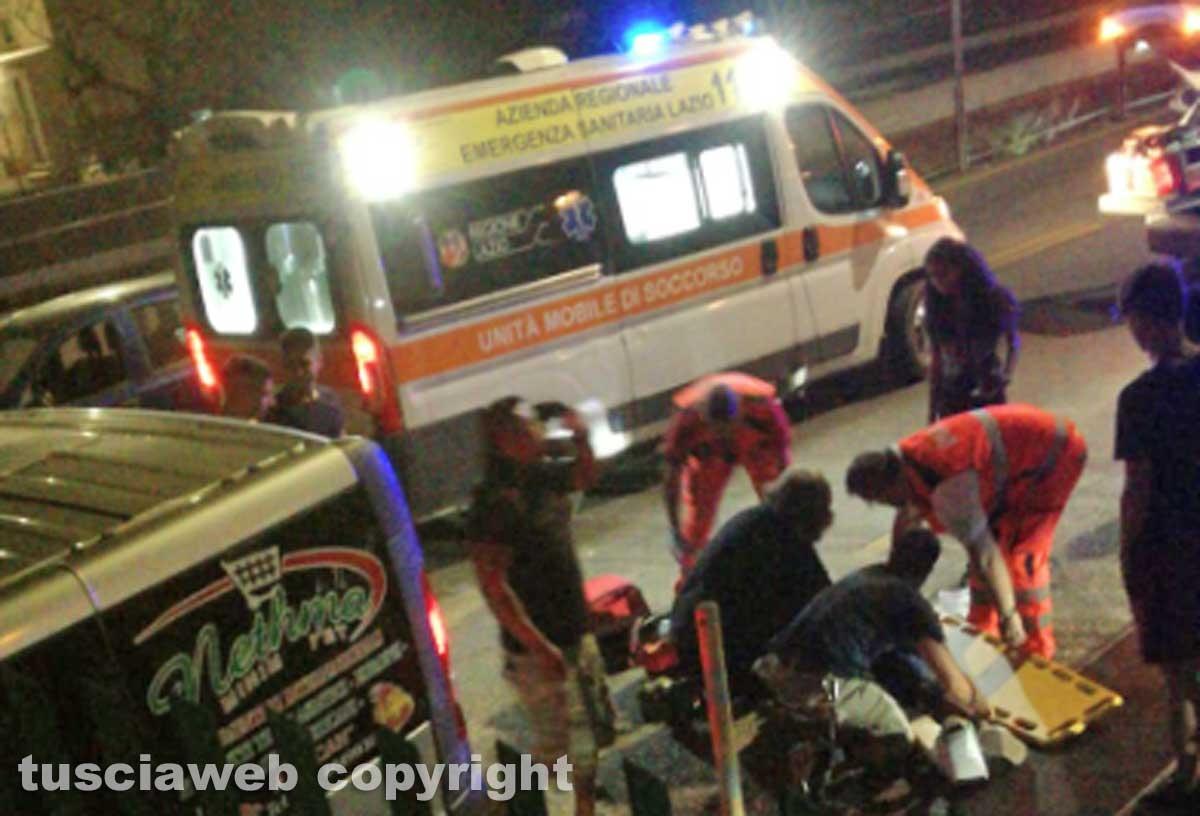 Viterbo - Scontro sulla Cassia nord, due feriti