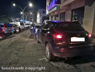 Viterbo - Scontro tra auto