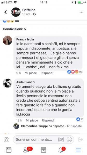 Selvaggia Lucarelli, i post offensivi