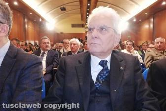 Viterbo - Sergio Mattarella all'Unitus
