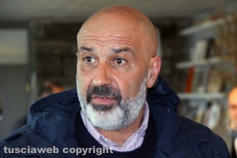 Sergio Pirozzi a Viterbo