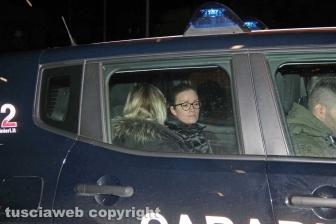 Operazione Birretta - Gli indagati portati in caserma dai carabinieri