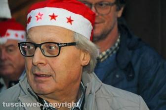 Sutri - Caffeina Christmas Village - Vittorio Sgarbi