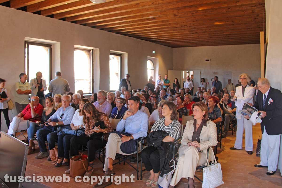 Sutri - L'intitolazione delle vie a Benedetto Croce e Federico Zeri - Il pubblico presente