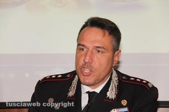 Il colonnello dei carabinieri Mauro Conte