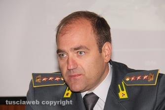 Il colonnello della finanza Giosuè Colella