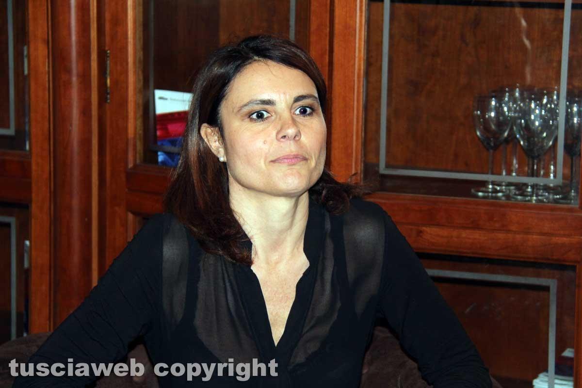 Simona Bonafè (Pd) a Viterbo