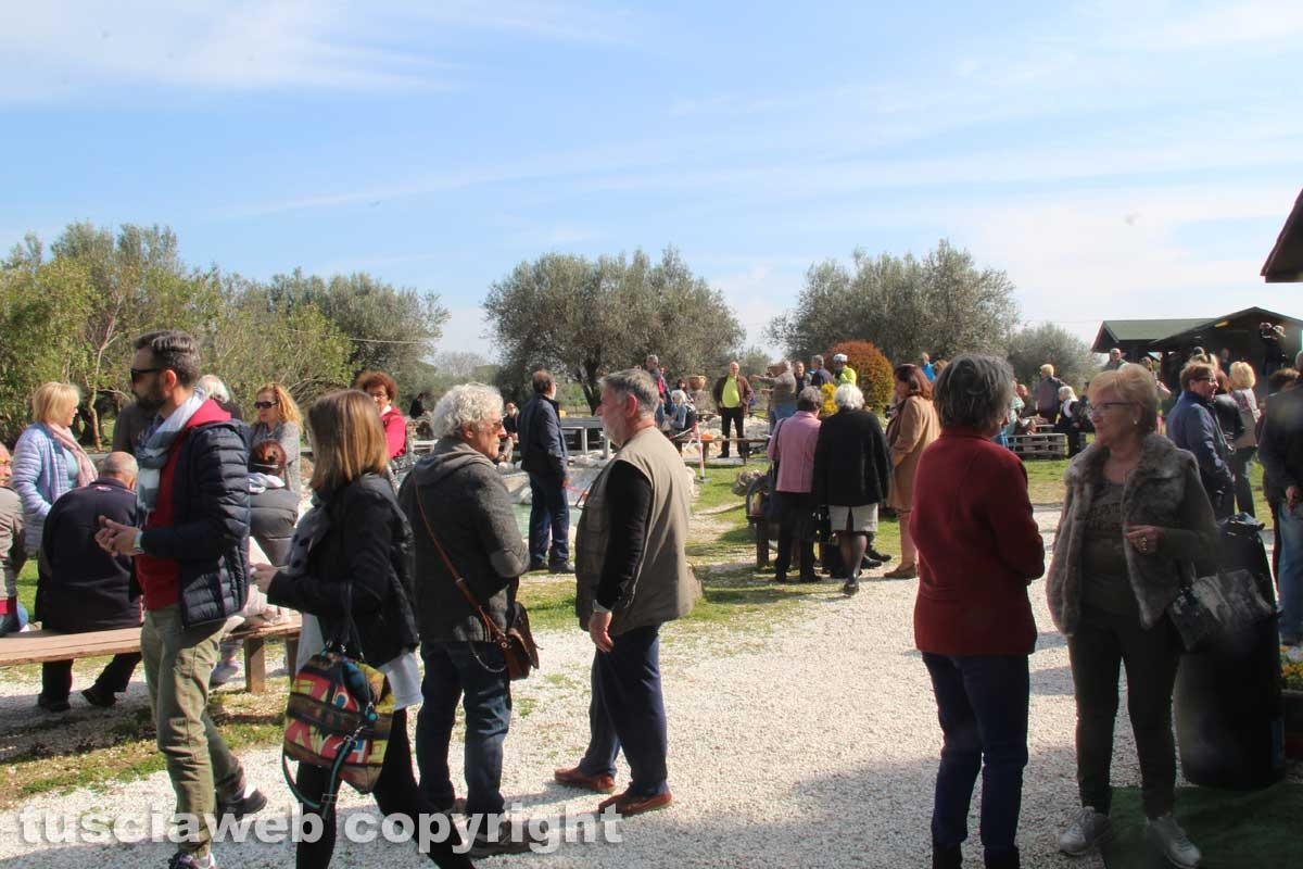 Sit-in alle masse di San Sisto