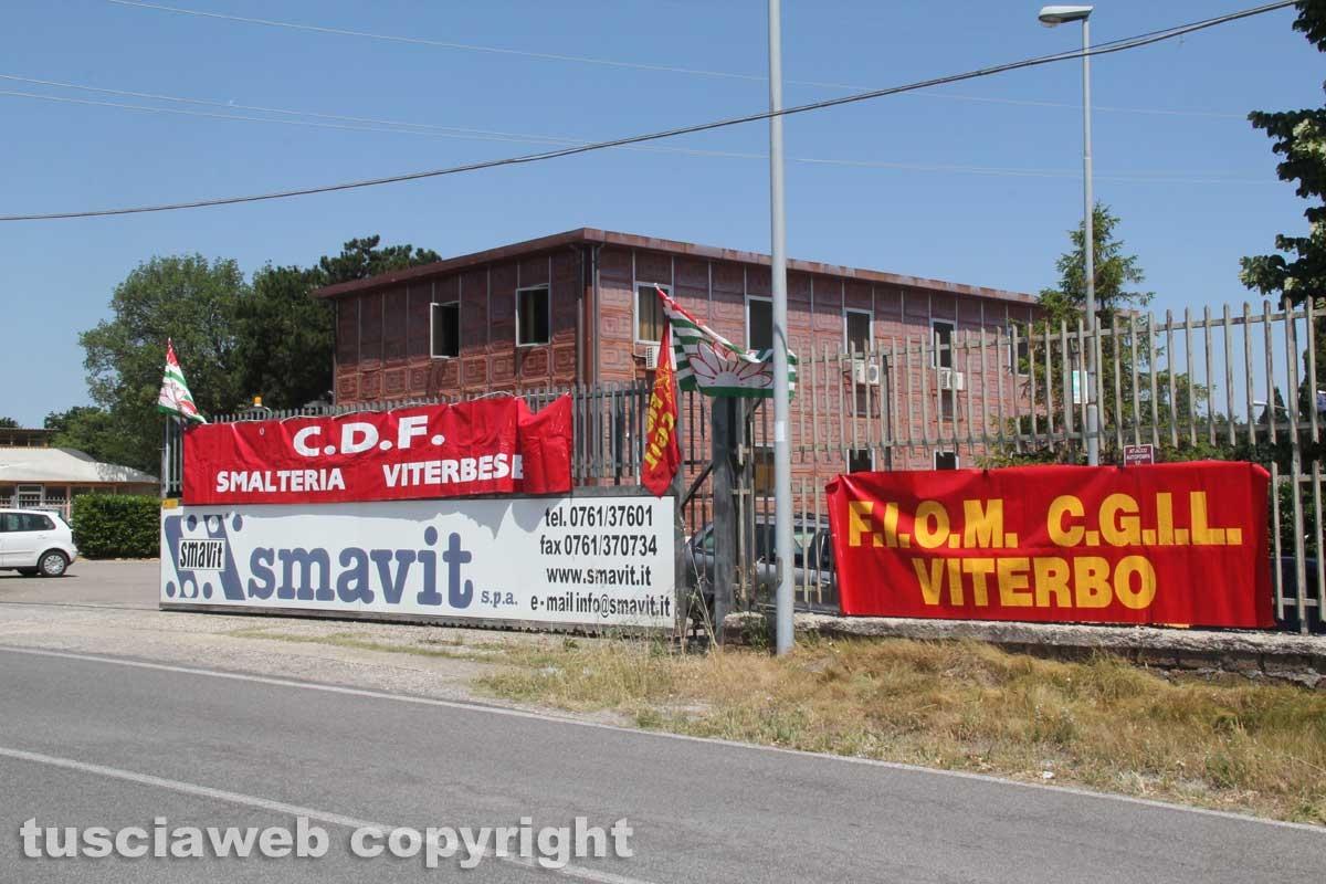 Smavit, 42 dipendenti in sciopero