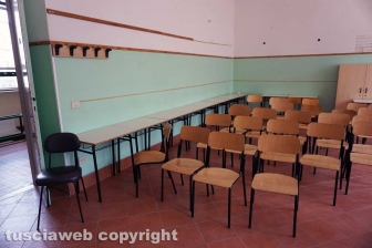Sopralluogo dell'assessore Ricci in tre scuole in cui sono stati fatti interventi per la messa in sicurezza