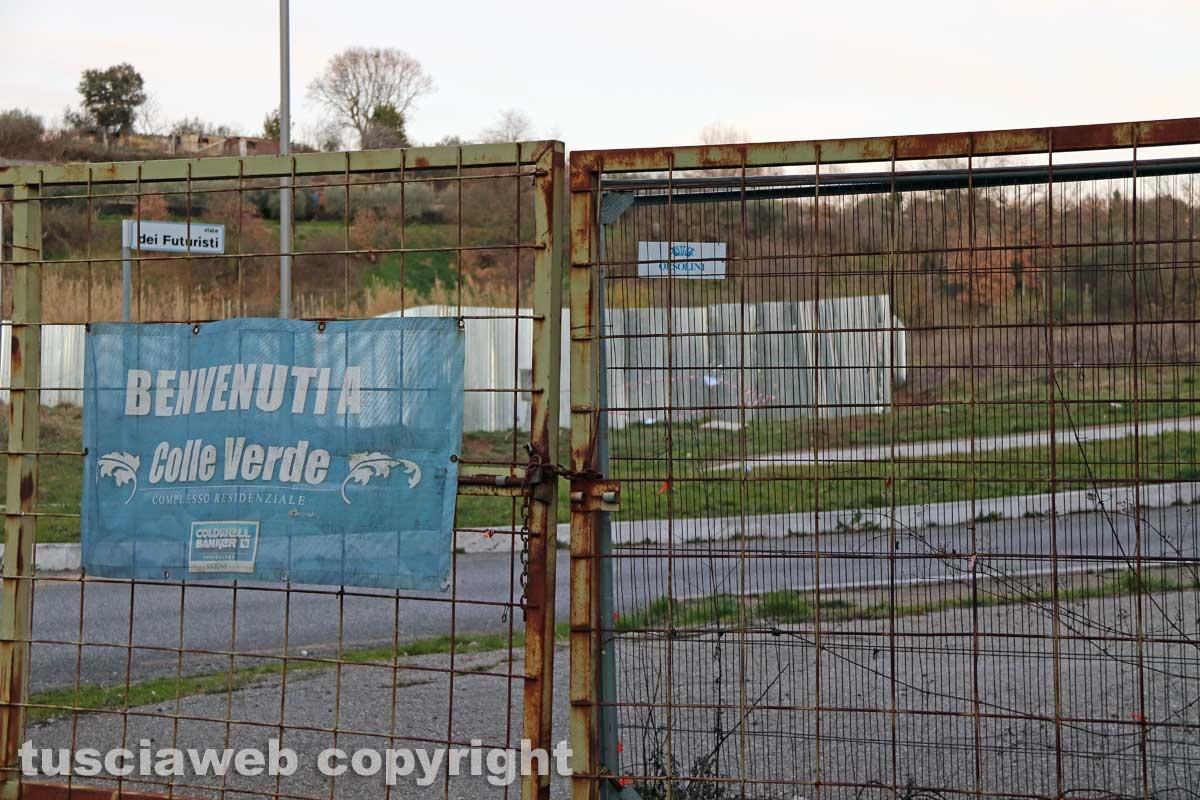Viterbo - Sotto sequestro i liquami in strada Acquabianca