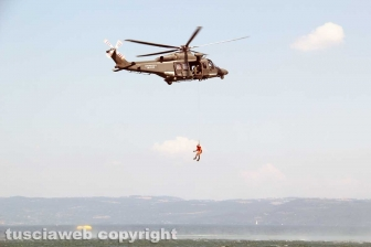 Montefiascone - Spettacolo all'Air show