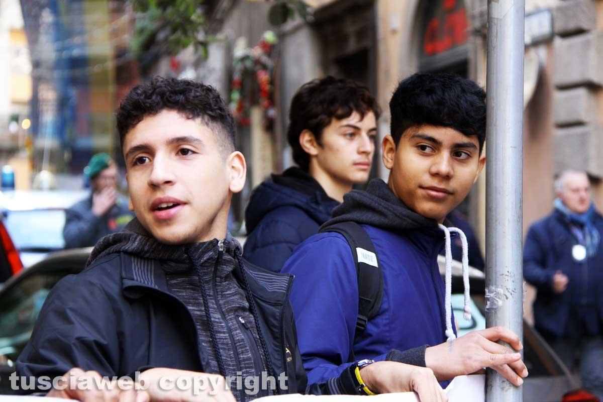 Studenti contro Cotral