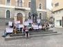 Stupro nel pub di CasaPound, il flash mob dell'associazione Kyanos